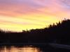 Lake Michelle - sunet